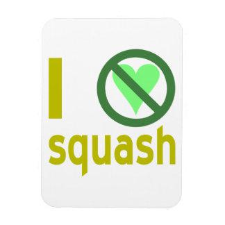 Hate Squash Rectangular Magnets