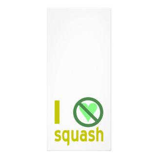 Hate Squash Rack Card