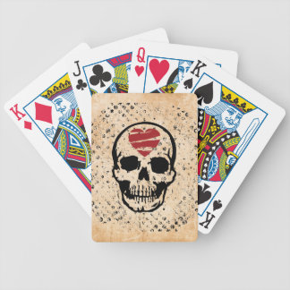 hate t bicycle poker deck