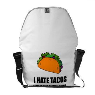 Hate Tacos Juan Messenger Bag