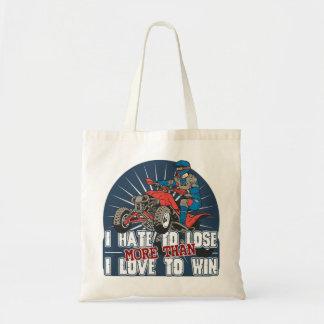 Hate to Lose ATV Tote Bag