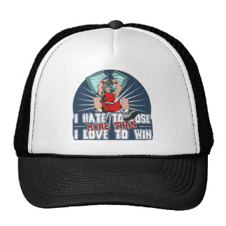 Hate to Lose Basketball Trucker Hat