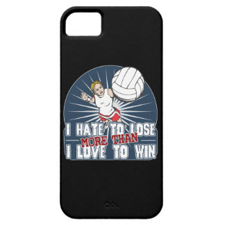 Hate to Lose Womens Volleyball iPhone SE/5/5s Case