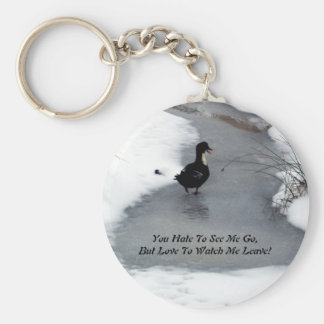 Hate To See Me Go Key Chain