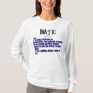 Hate, verb,  noun T-Shirt
