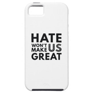 Hate Will Not Make US Great iPhone SE/5/5s Case