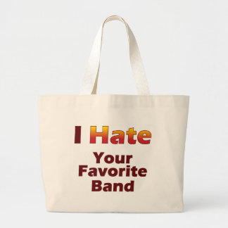 Hate Your Fave Canvas Bag