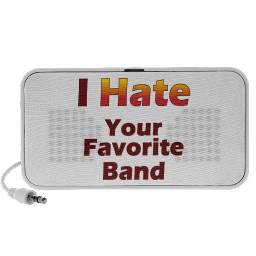 Hate Your Fave Band Speaker System