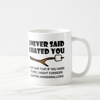 Hateful Marshmallows Funny Mug