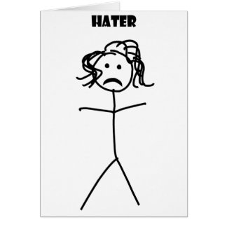 Hater Card