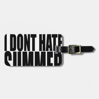 hater summer end vacation flirt romance couple bla luggage tag