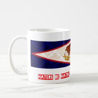 Haters be hatin American Samoa Coffee Mug