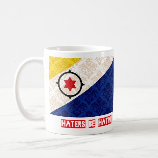 Haters be hatin Bonaire Coffee Mugs