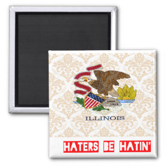 Haters be hatin Illinois Refrigerator Magnets