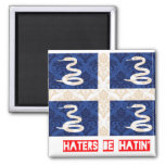 Haters be hatin Martinique Magnets