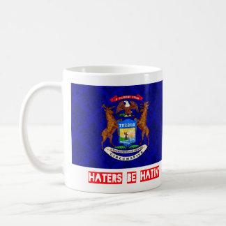 Haters be hatin Michigan Coffee Mug