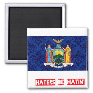 Haters be hatin New York Fridge Magnets