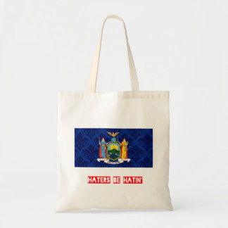 Haters be hatin New York Tote Bag