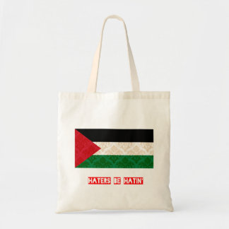 Haters be hatin Palestine Tote Bag
