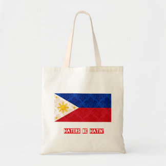 Haters be hatin Philippines Canvas Bags