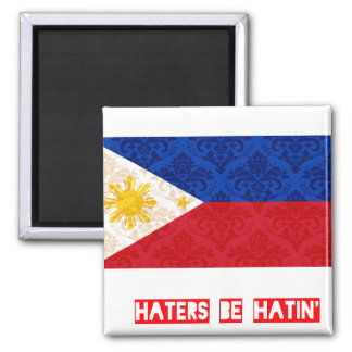 Haters be hatin Philippines Refrigerator Magnets