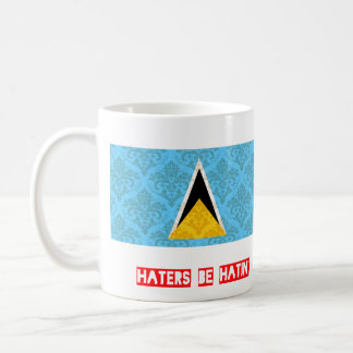 Haters be hatin Saint Lucia Coffee Mug