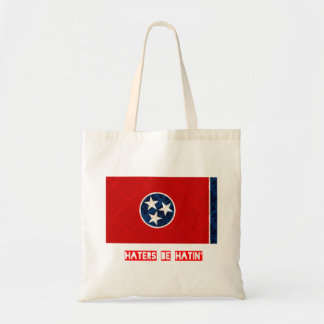 Haters be hatin Tennessee Tote Bag