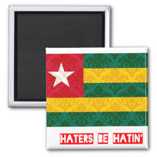 Haters be hatin Togo Refrigerator Magnets
