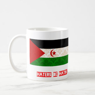 Haters be hatin Western Sahara Coffee Mug