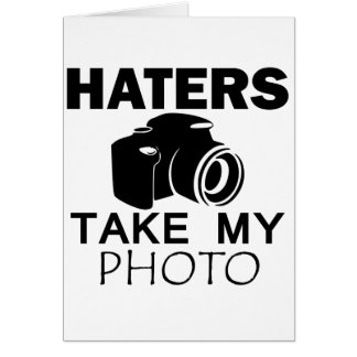 haters design card