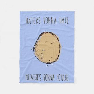 Haters Fonna Hate BLanket Fleece Blanket