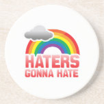 HATERS GONNA HATE DRINK COASTERS