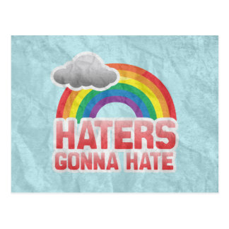 HATERS GONNA HATE -.png Postcard