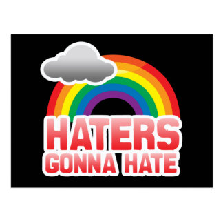 HATERS GONNA HATE POSTCARDS