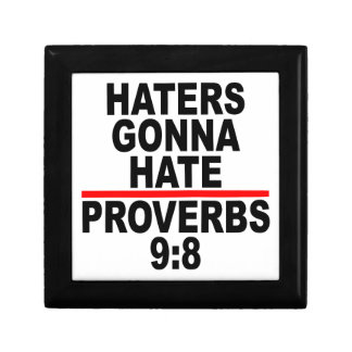 Haters Gonna Hate T-Shirts.png Keepsake Boxes