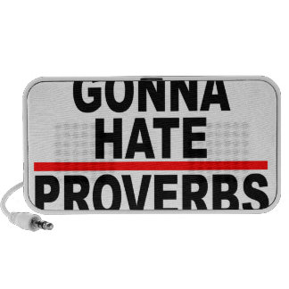 Haters Gonna Hate T-Shirts.png Portable Speaker