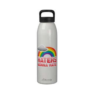 HATERS GONNA HATE WATER BOTTLES