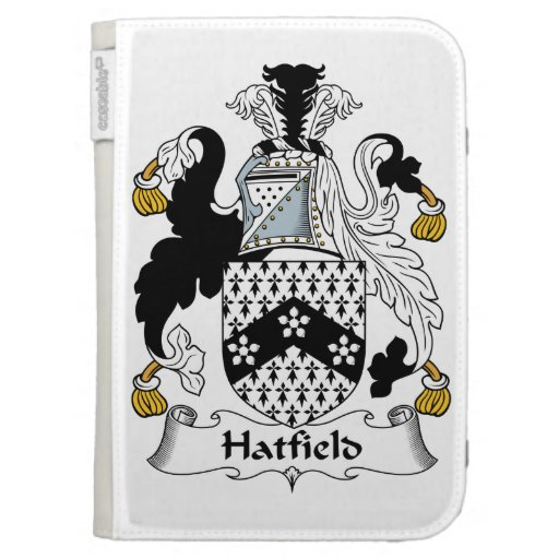 Hatfield Family Crest Kindle 3G Cases