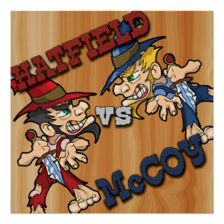 Hatfield vs McCoy Poster