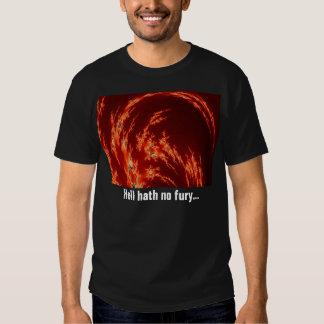 Hath del infierno ninguna furia… remeras