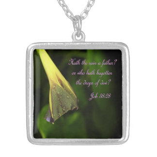 Hath the Rain a Father? necklace