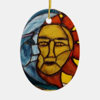 Hatha Sun and Moon Ornament