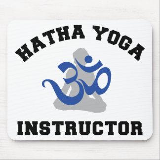 Hatha Yoga Instructor Mouse Pad