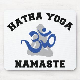 Hatha Yoga Namaste Gift Mouse Pad