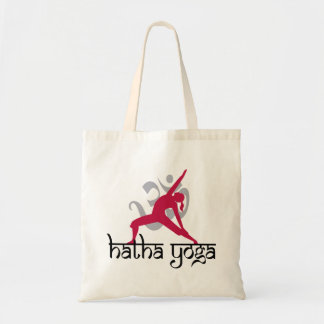 Hatha Yoga Pose Budget Tote Bag