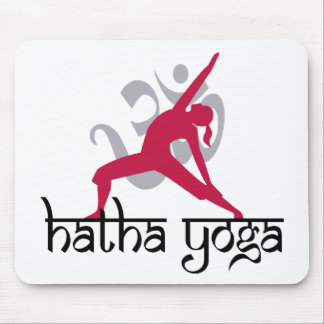 Hatha Yoga Pose Mouse Pad