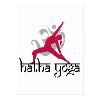 Hatha Yoga Pose Postcards