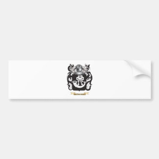 Hathaway Coat of Arms (Family Crest) Bumper Stickers