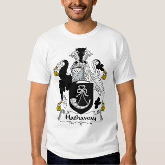 Hathaway Family Crest T Shirt