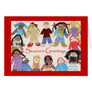 Hathaway-Sycamores Children Holiday Card